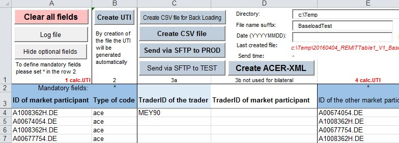 Comfortable Excel Templates